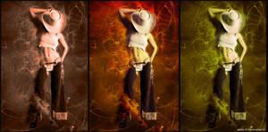 Western trio by jablar