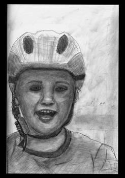 Jajas with helmet