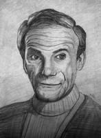 Sketch of Jonathan Harris for gonzalexx1 by jablar