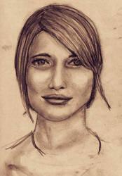 Lady sketch by jablar