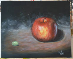 The Apple, small Grapie and the Universe by jablar