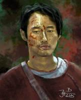 Glenn from Walking dead by jablar