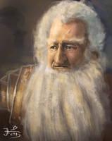 Dwarf Balin from Hobbit by jablar