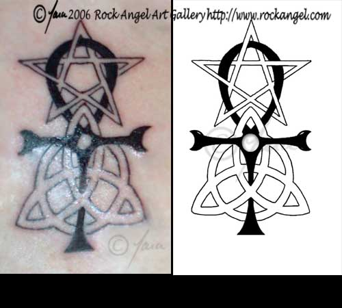 pagan symbols tattoo design by spiritonparole on deviantart. Black Bedroom Furniture Sets. Home Design Ideas