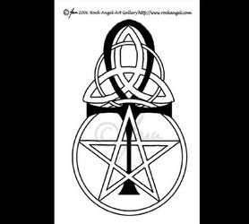 Pagan Symbols Tattoo 2 by SpiritOnParole