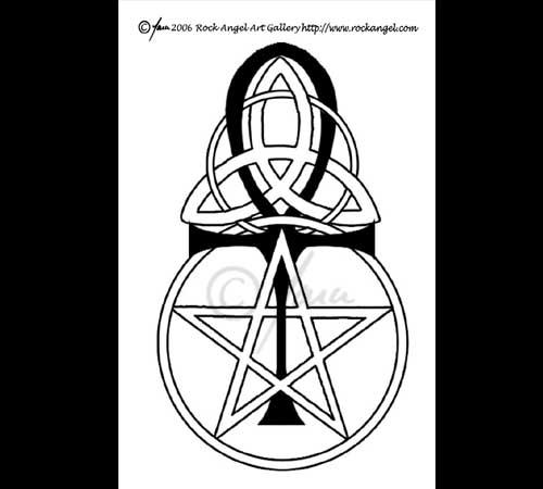 Pagan symbols tattoo 2 by spiritonparole on deviantart for Witch symbols tattoos
