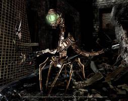 scavenger maintenance creature by SpiritOnParole