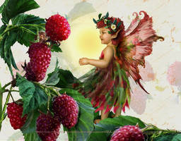 Raspberry Fairy by SpiritOnParole