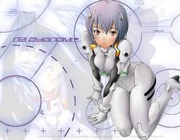 Neon Genesis Evangelion Rei by SpiritOnParole
