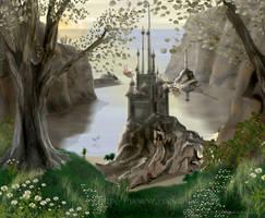 Sea Castle by SpiritOnParole