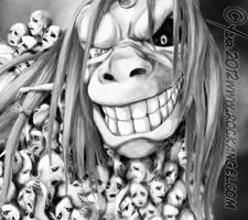 Envy, Monster FMAB Detail 2 by SpiritOnParole