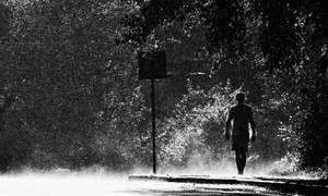 Sun and rain by TriinErg