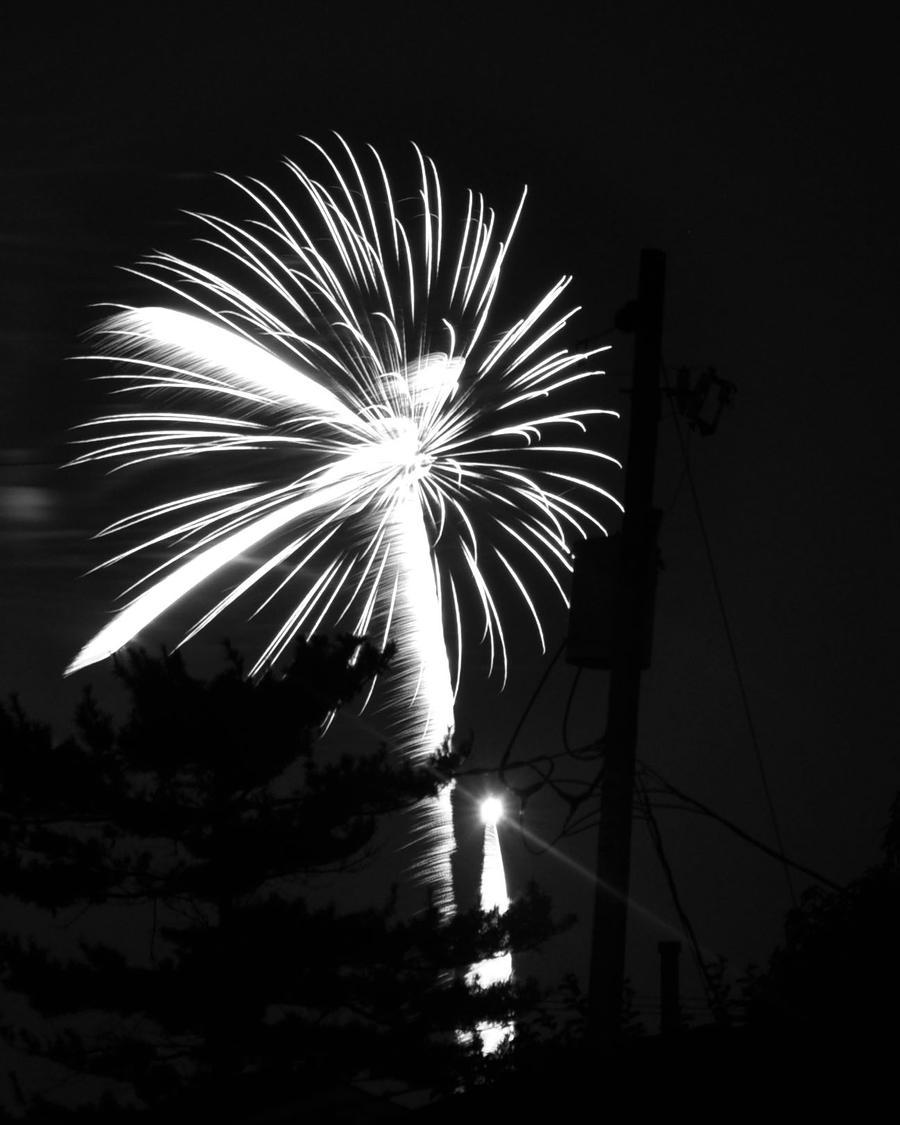 Fireworks 5-Black and White by Rayvenstar on DeviantArt