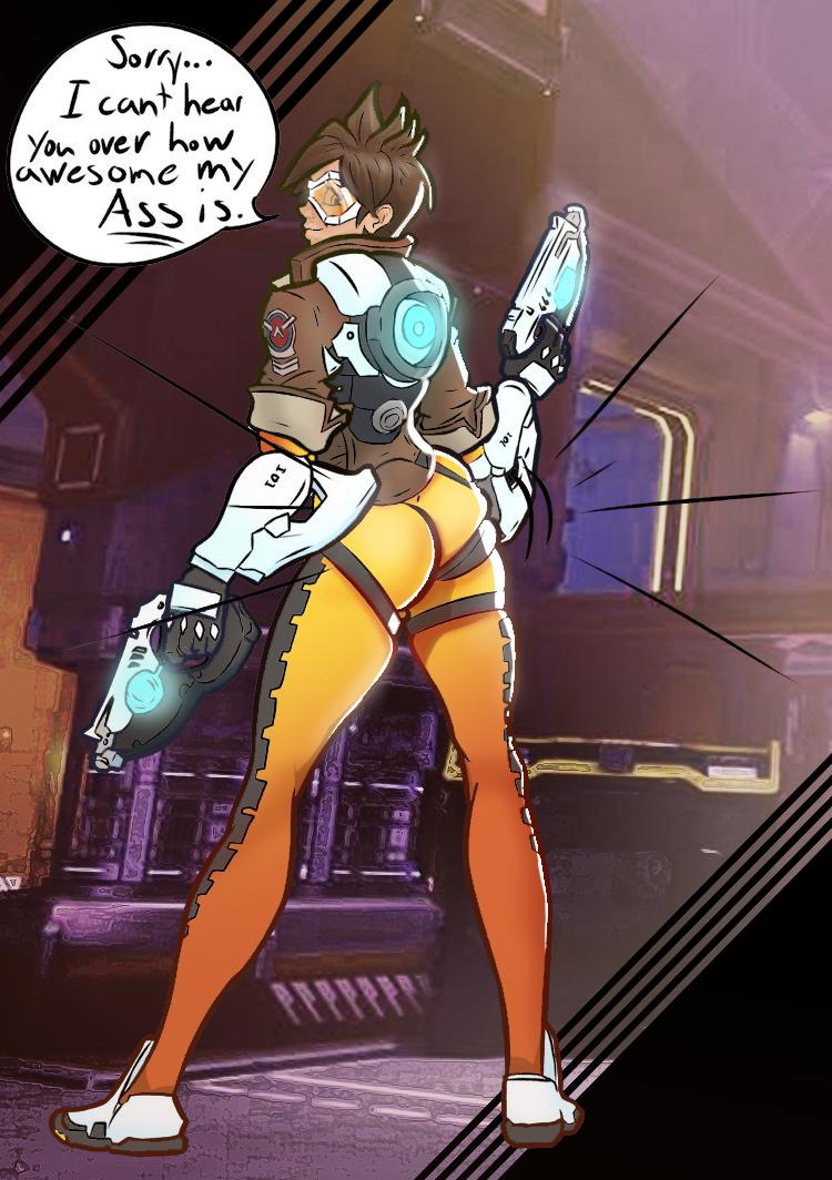 Tracer overwatch ass