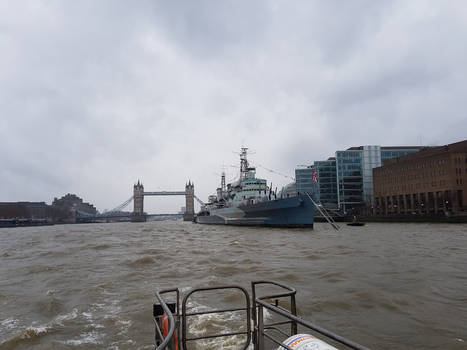 HMS Belfast and Tower Bridge