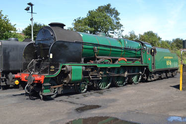Southern 850 at Ropley by HampshireBrony