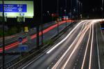 M27 Westbound - roadworks ahead