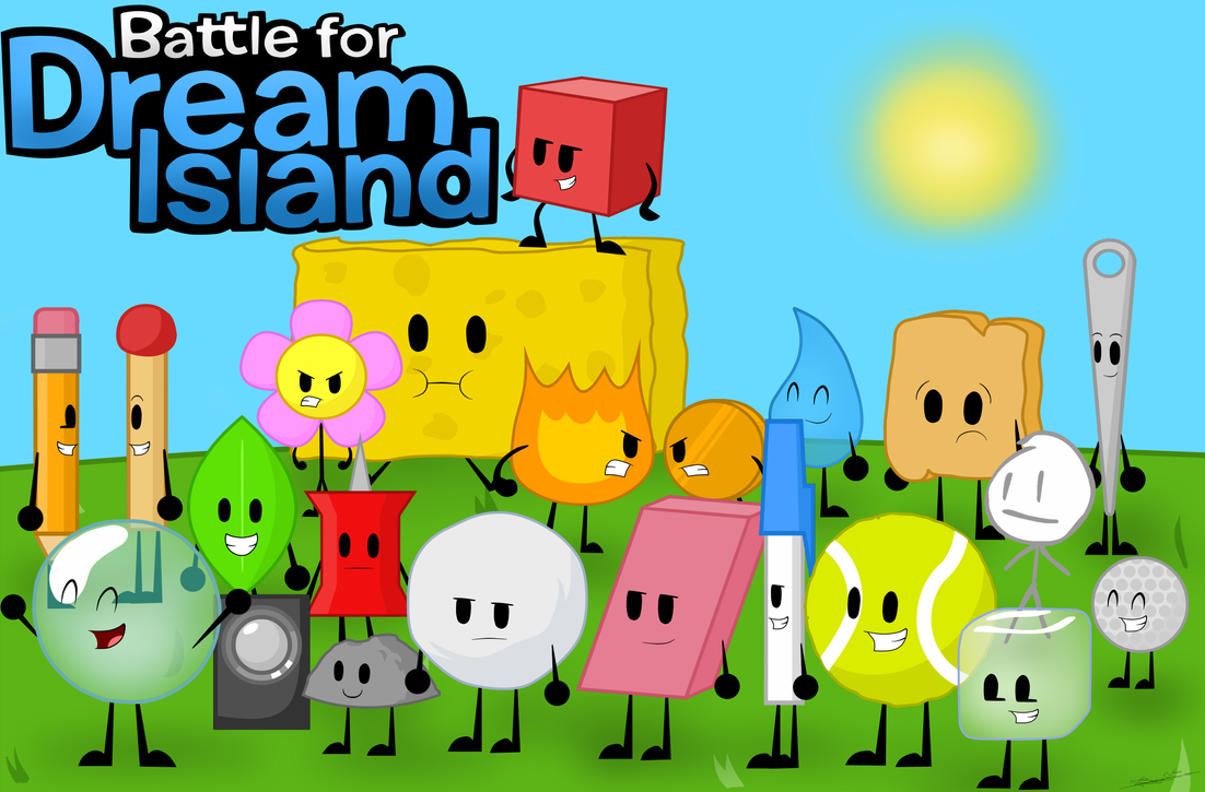 Re Draw Battle For Dream Island All Characters By