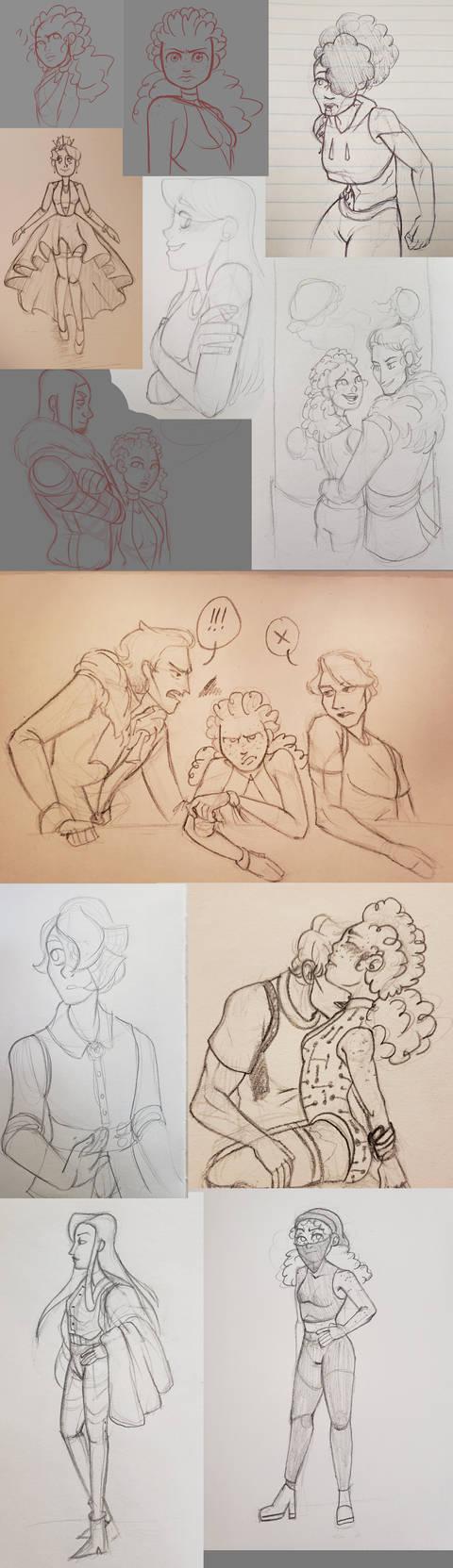 [TAS] Sketchdump 05 by crustrising