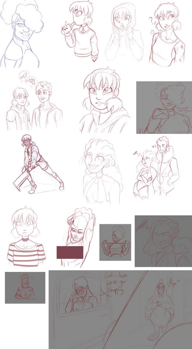 [TAS] Sketchdump 06 by crustrising