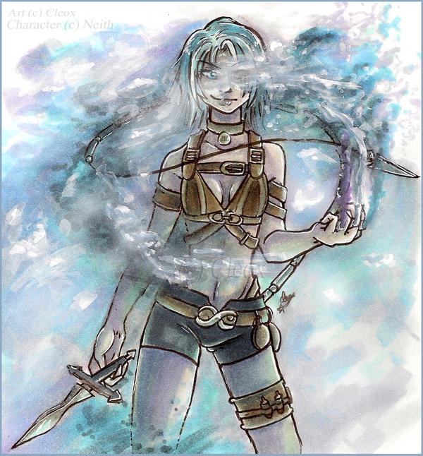 Freya .Blue Fog. by Cleox