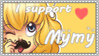 Stamp .I support Mymy. by Cleox