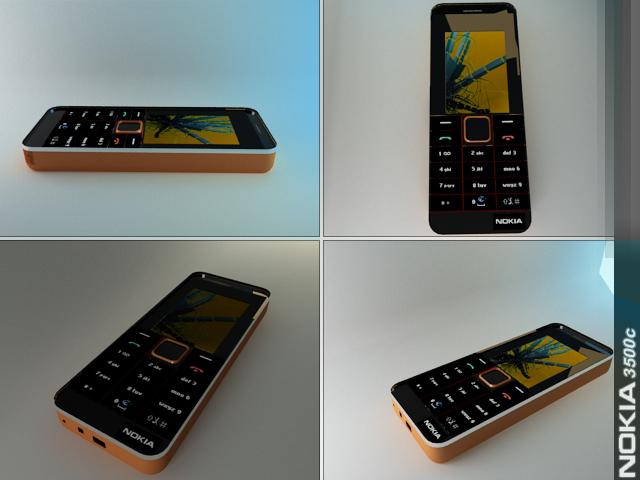 Nokia 3500c by Rafk