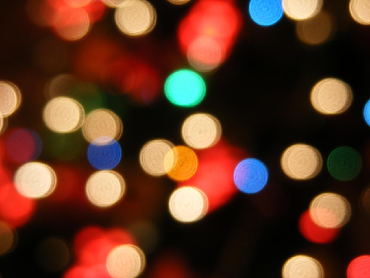 Blurry Lights By Rafk