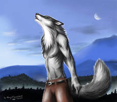 The rise of the wolf-song by NargilFlameWolf
