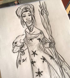 Goddess ink by TijonWolfsMajestys