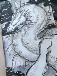 Inktober Dragon