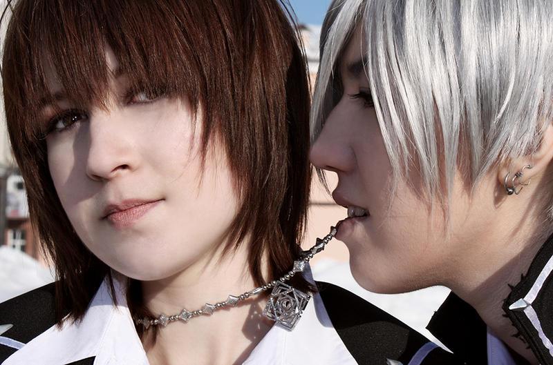 Vampire KnightZero And Yuuki1 By Ashitaro