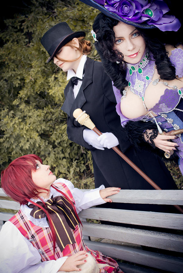 Trinity Blood: Lady's talk by Ashitaro