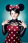 Minnie Mouse Tattoed