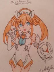 Orange Heart  by DizzyDimensy