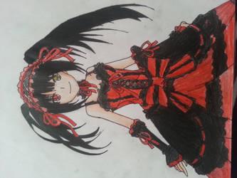 Kurumi Tokisaki by DizzyDimensy