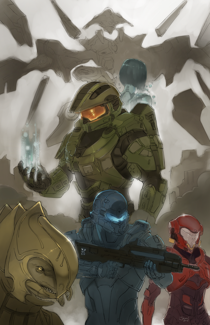 How Halo 5 should have been  Part 01 by jazreet911
