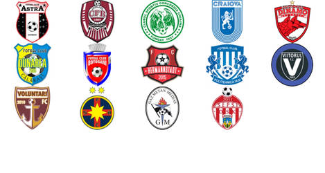 2018/2019 Liga 1 Romania by UdinIwan