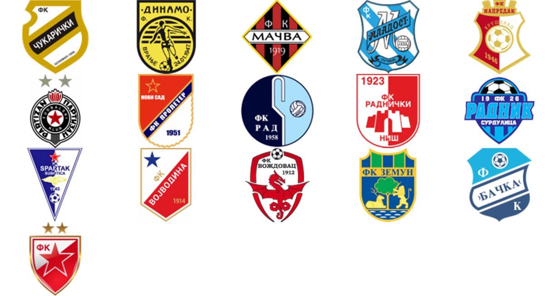 2018/2019 Super Liga Serbia by UdinIwan