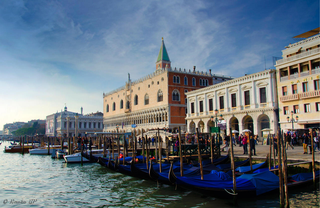 Venice, Doge's palace by roman-gp