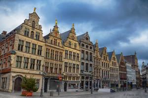 Grote Markt in Antwerpen by roman-gp