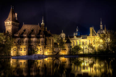 Vajdahunyad Castle III, Budapest by roman-gp