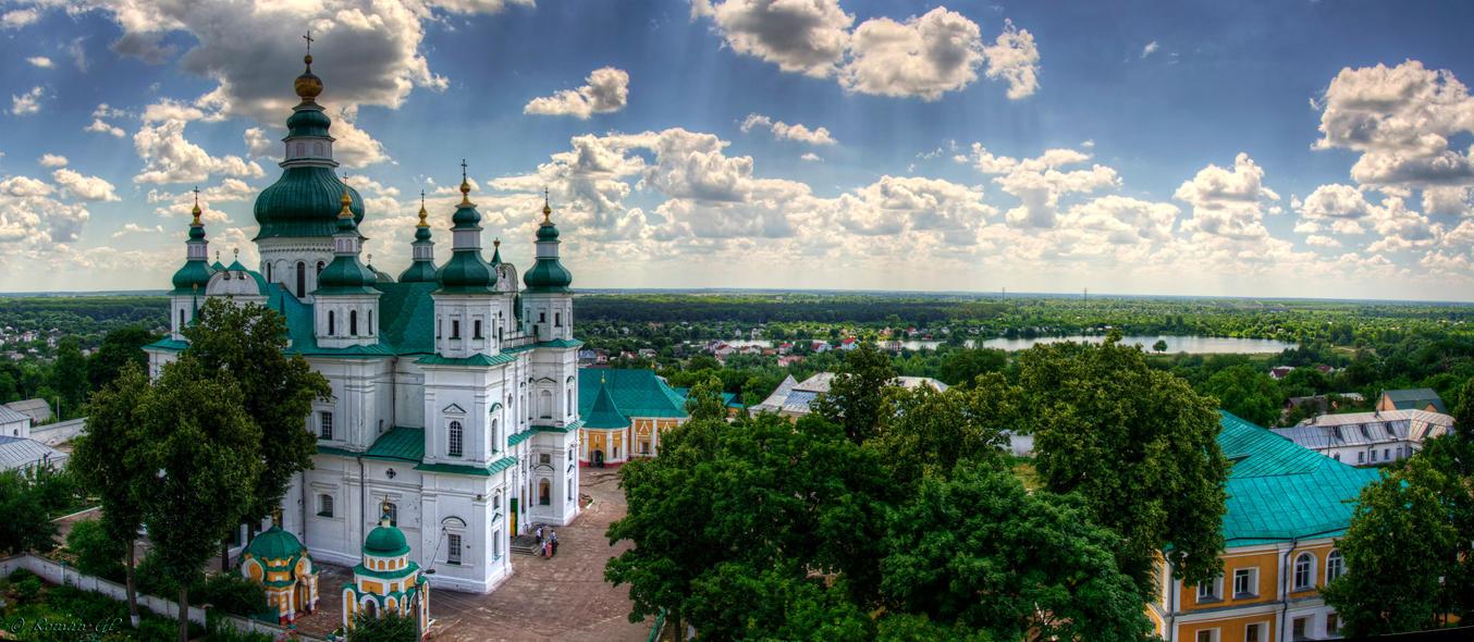 Holy Trinity Cathedral (Chernihiv) by roman-gp
