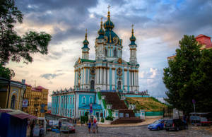 St Andrew's Church, Kiev I by roman-gp