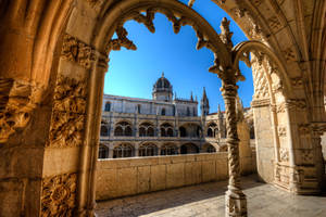 Jeronimos cloister arches by roman-gp