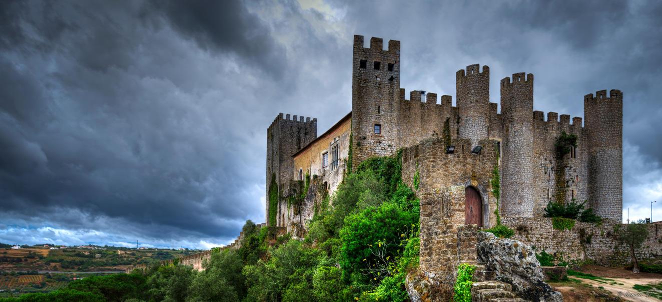 Obidos castle by roman-gp on DeviantArt