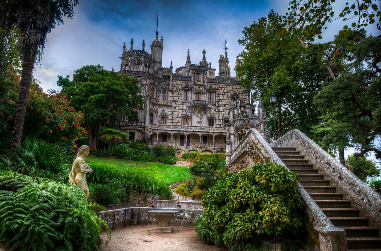 Quinta da Regaleira - The manor house by roman-gp on