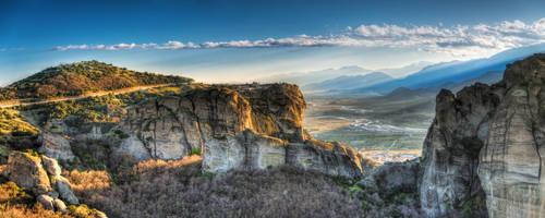 Meteora - Panorama by roman-gp