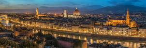 Florence at night by roman-gp