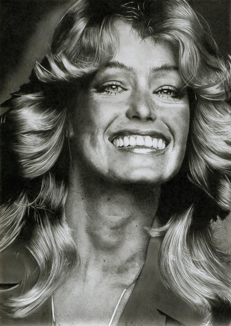 Farrah Fawcett by MITSUO2 on DeviantArt